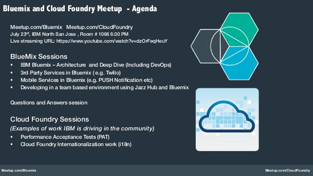 IBM BlueMix Architecture and Deep Dive (Powered by CloudFoundry)  Slide 2