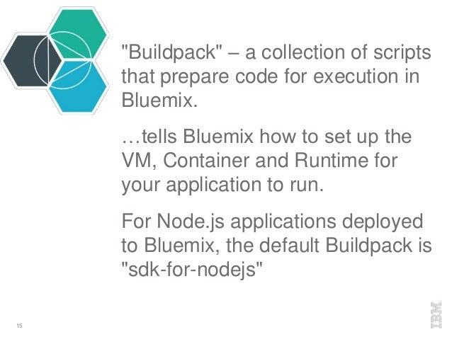 A Node js Developer's Guide to Bluemix