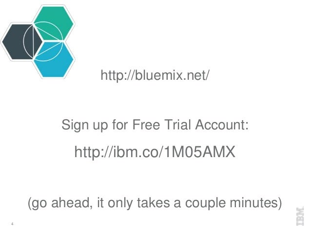 A Node js Developer's Guide to Bluemix