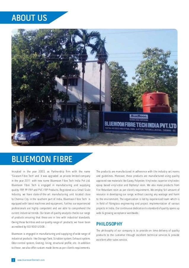 Bluemoon Fibre Tech India Private Limited, Chennai, PVC-FRP Slide 2