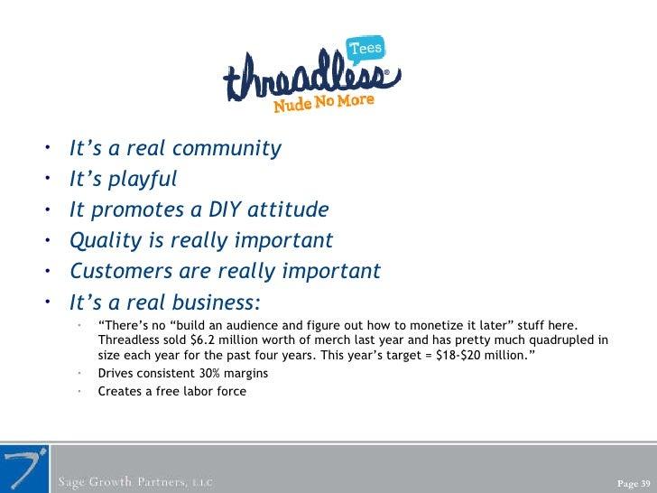 <ul><li>It's a real community </li></ul><ul><li>It's playful </li></ul><ul><li>It promotes a DIY attitude </li></ul><ul><l...