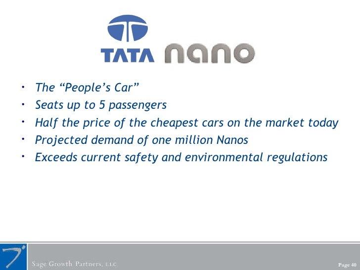 "<ul><li>The ""People's Car"" </li></ul><ul><li>Seats up to 5 passengers </li></ul><ul><li>Half the price of the cheapest car..."