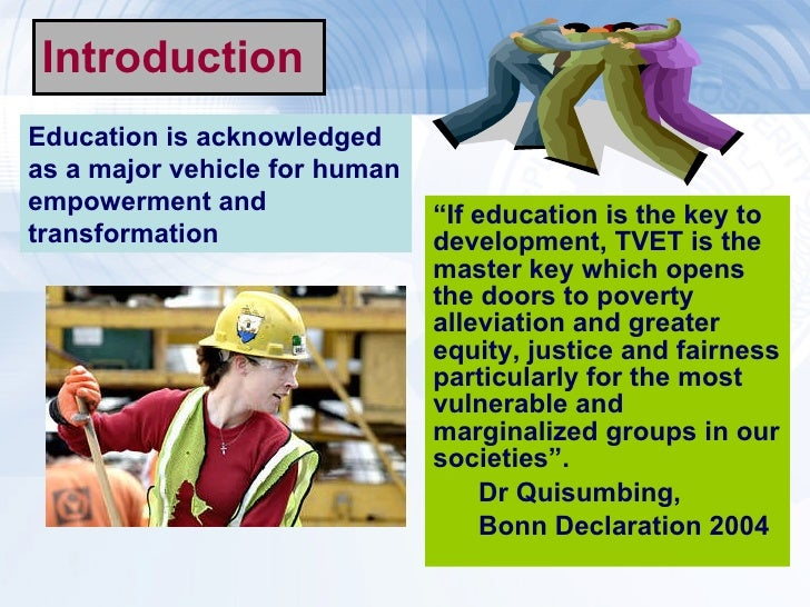Introduction on marginalization and poverty as its main key