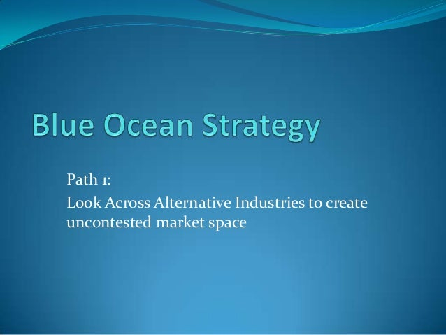 exploring 3ms blue ocean strategy Blue ocean strategy challenges companies to break out of the red ocean of bloody competition by creating uncontested market space that makes the competition irrelevant.