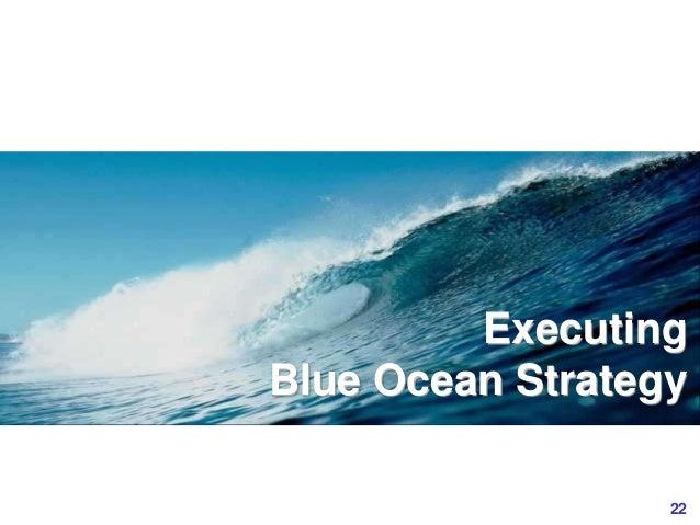22www.study Marketing.org Executing Blue Ocean Strategy