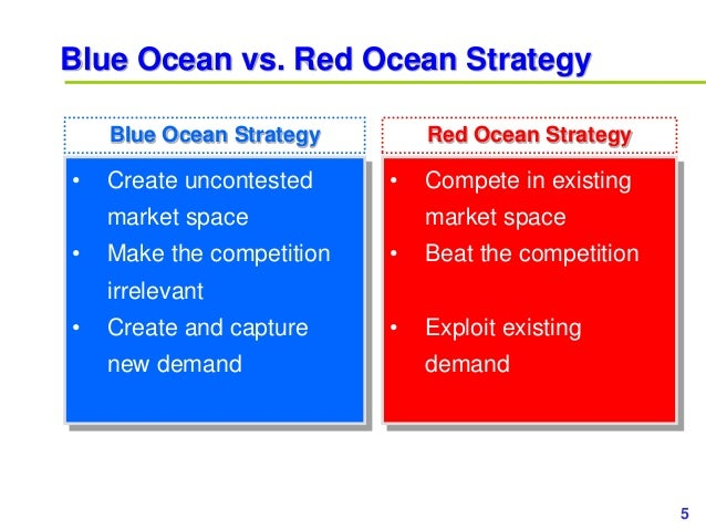 5www.study Marketing.org Blue Ocean vs. Red Ocean Strategy • Create uncontested market space • Make the competition irrele...