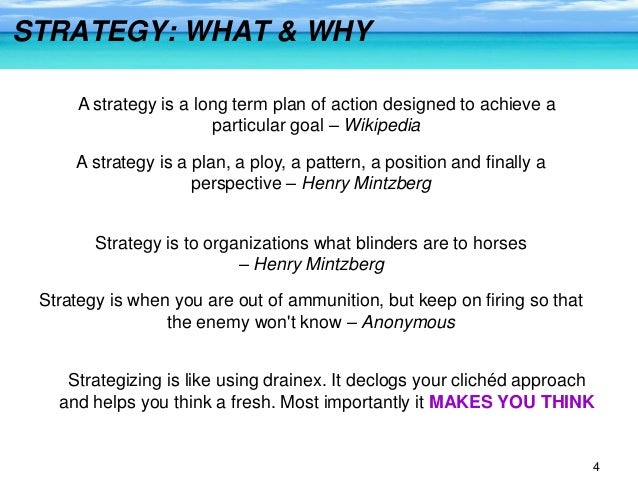 synopsis blue ocean strategy The blue ocean strategy is about creating uncontested new market space (instead to compete on a crowded market) and making thereby competition irrelevant but blue oceans are largely unknown, a lot of things have to be taken into account and above all blue oceans turn into red ones when one after.
