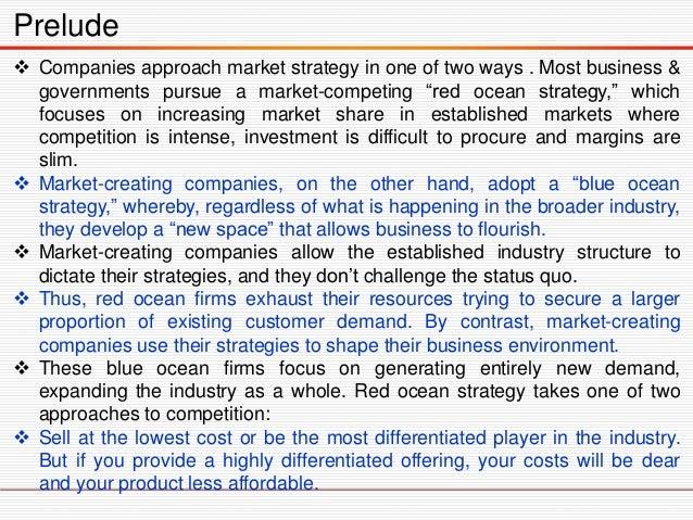 Blue Ocean Strategy Slide 3