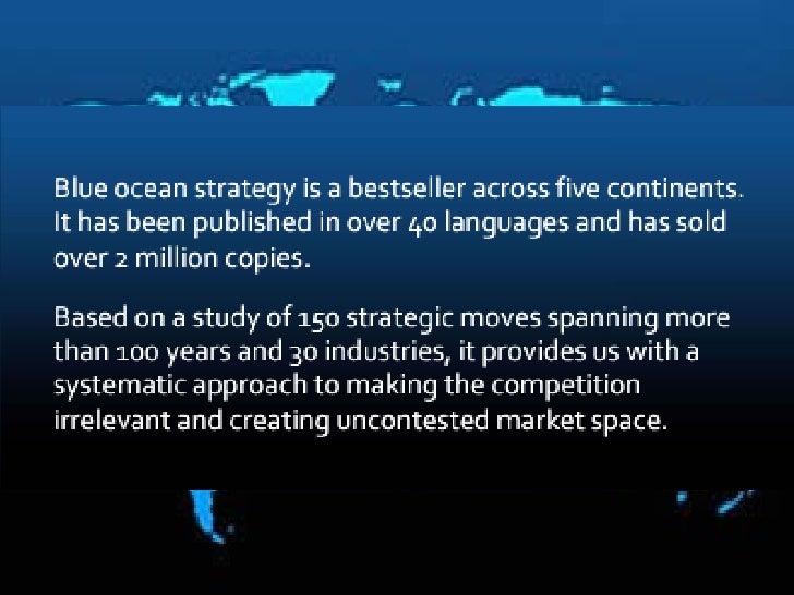 Blue ocean strategy   martin limgenco Slide 2