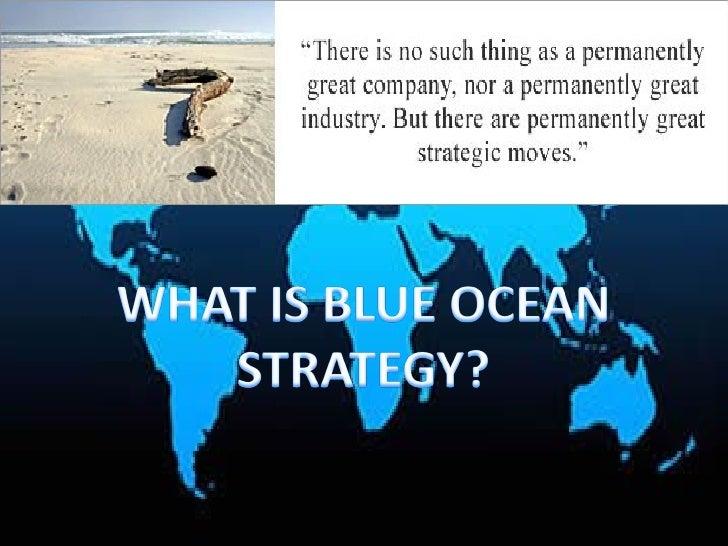 Blue ocean strategy   martin limgenco Slide 3