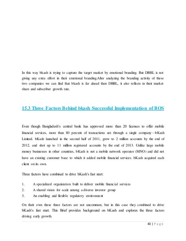 bkash case study