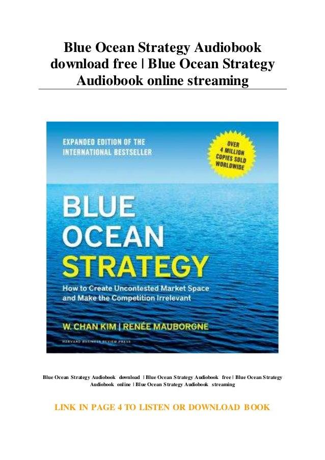 Blue ocean strategy ebook download