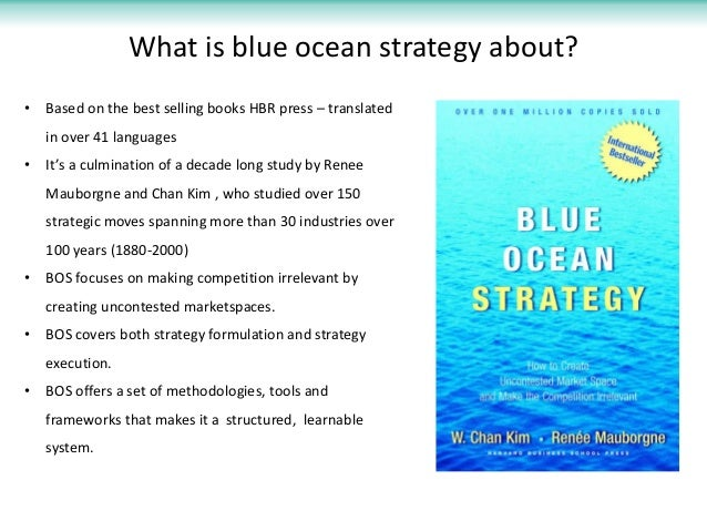 blue ocean strategy what s a blue