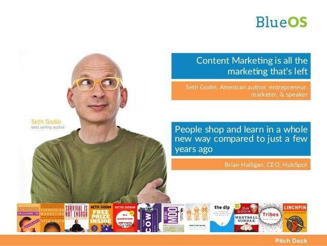 Pitch Deck BlueOS  People shop and learn in a whole  new way compared to just a few  years ago  Brian Ha...