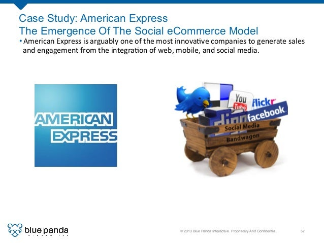 © 2013 Blue Panda Interactive. Proprietary And Confidential.! 57! Case Study: American Express The Emergence Of The Social ...