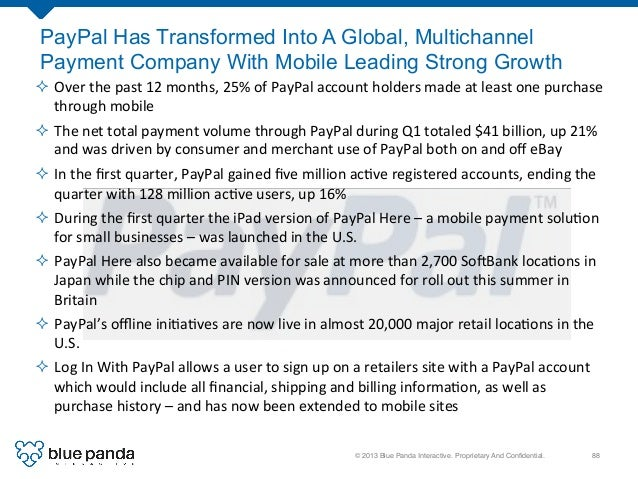 © 2013 Blue Panda Interactive. Proprietary And Confidential.! 88! ² Over  the  past  12  months,  25%  of  ...