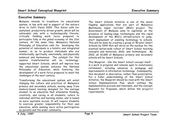 A conceptual blueprint 9 smart school conceptual blueprint malvernweather Gallery