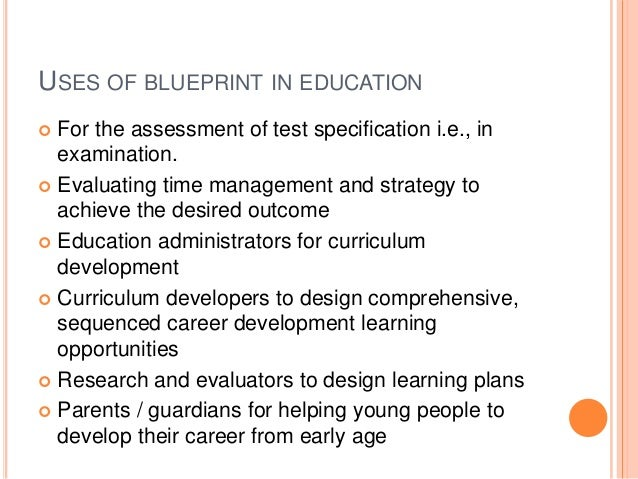 Blueprint in education features 25 malvernweather