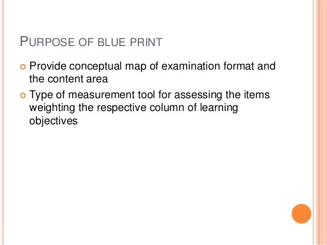 Blueprint in education assessment 32 malvernweather Choice Image