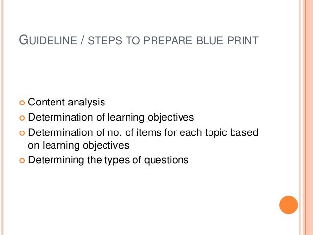 Blueprint in education content analysis 42 malvernweather Gallery