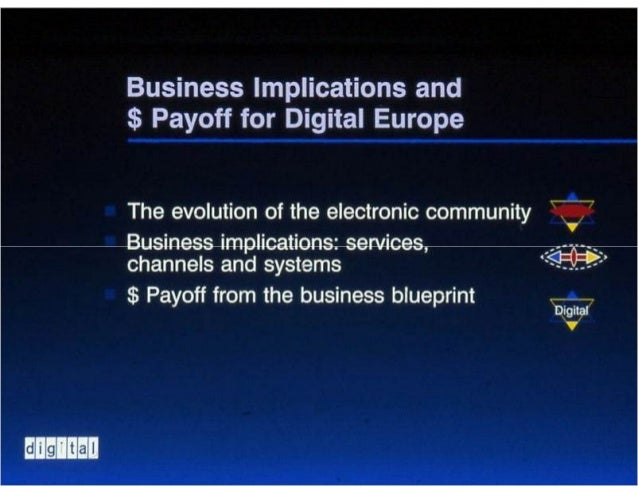Business blueprint for electronic business business implications malvernweather Gallery