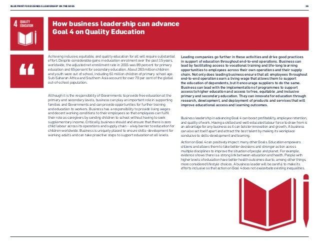 Blueprint for business leadership on the sdgs blueprint malvernweather Images