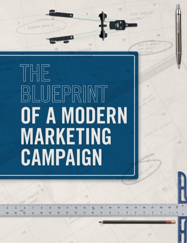 The blueprint of a modern marketing campaign 1 malvernweather Choice Image