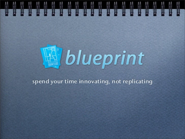 spend your time innovating, not replicating