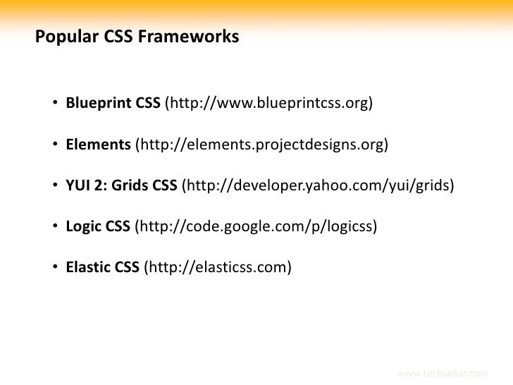 Blueprint css framework br 6 popular css malvernweather Images