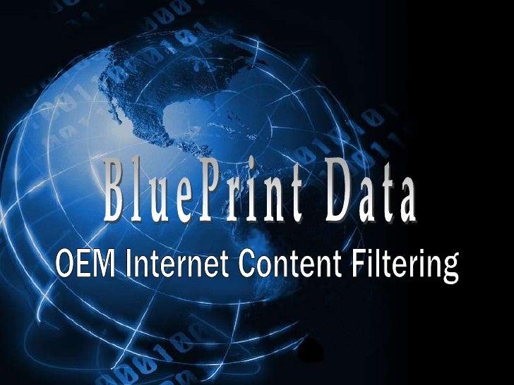 BluePrint Data<br />OEM Internet Content Filtering<br />