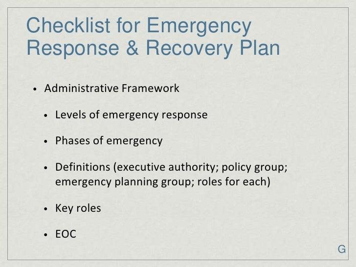 Authority Blueprint Checklist