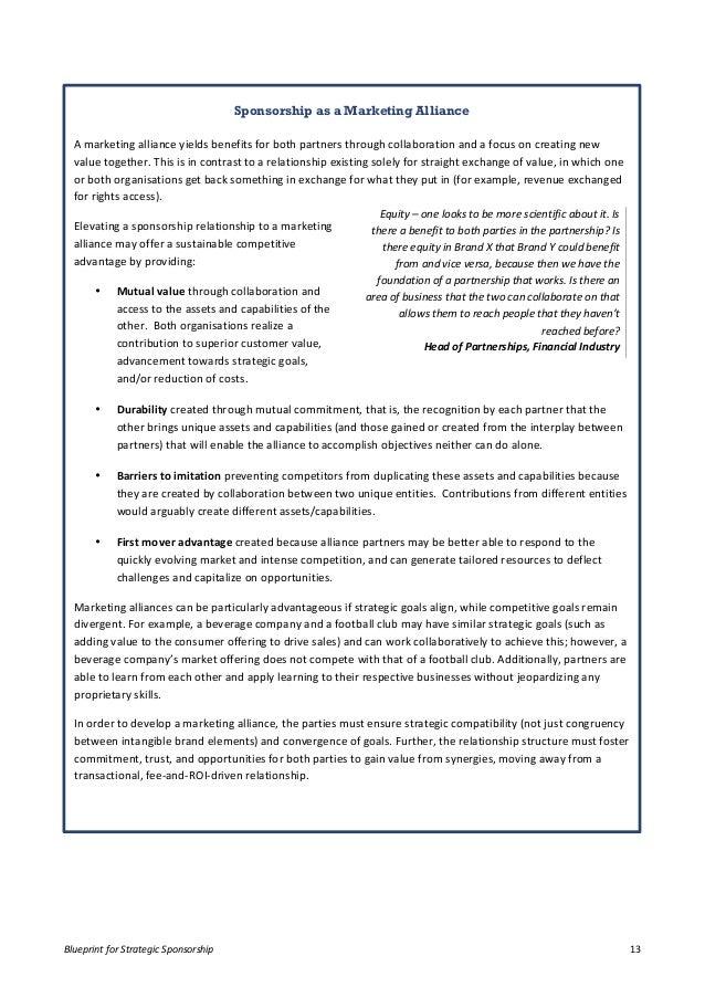 Blueprint for strategic sponsorship whitepaper report pdf download blueprint malvernweather Choice Image