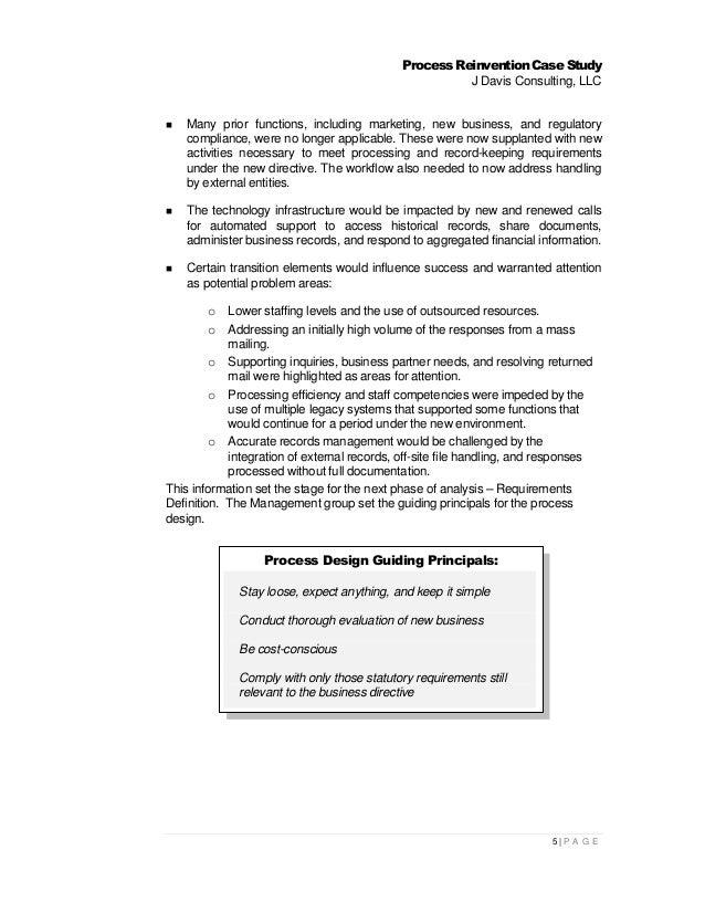Blueprint for success process reinvention case study 4p a g e 7 malvernweather Images