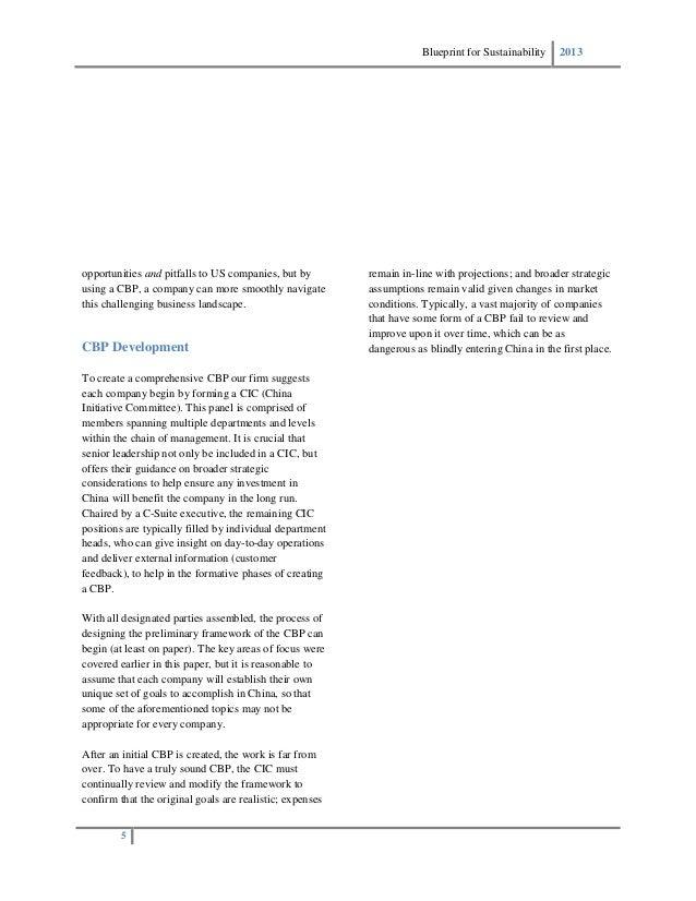 Blueprint for sustainability minimizing expenses across foreign supp blueprint malvernweather Gallery