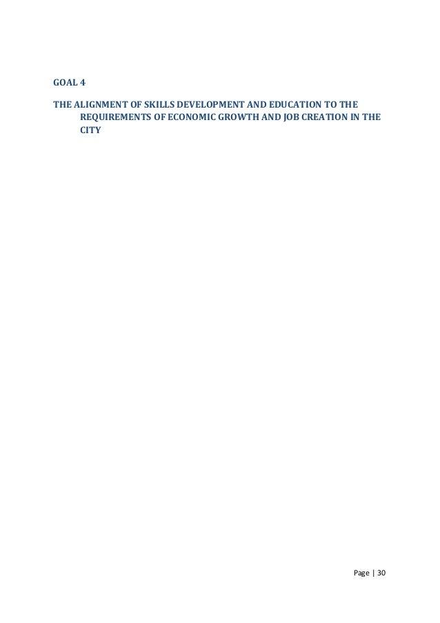 Blueprint full report page 29 30 goal 4 the alignment of skills development malvernweather Gallery