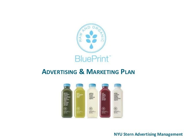 Blue print juice advertising strategy plan malvernweather Choice Image