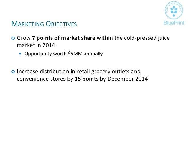 Blue print juice advertising strategy plan 14 malvernweather Choice Image