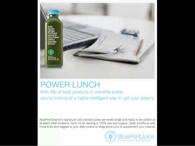 Blue print juice advertising strategy plan 17 malvernweather Choice Image