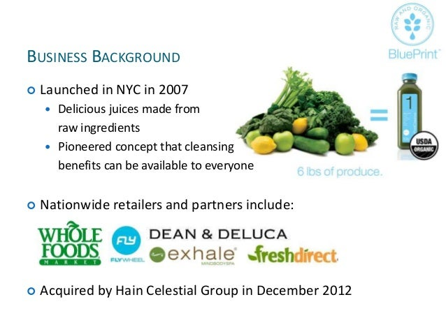 Blue print juice advertising strategy plan malvernweather Choice Image