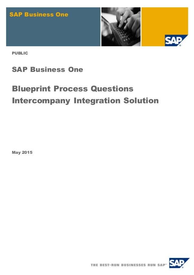 Blueprint process questionsics sap business one public sap business one blueprint process questions intercompany integration solution may 2015 malvernweather Images