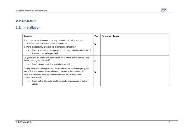 Blueprint process questionsics blueprint process questionnaire malvernweather Images