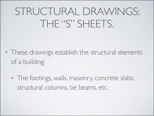 Blueprint reading introduction structural malvernweather Choice Image