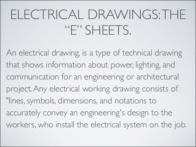 Blueprint reading introduction electrical malvernweather Images