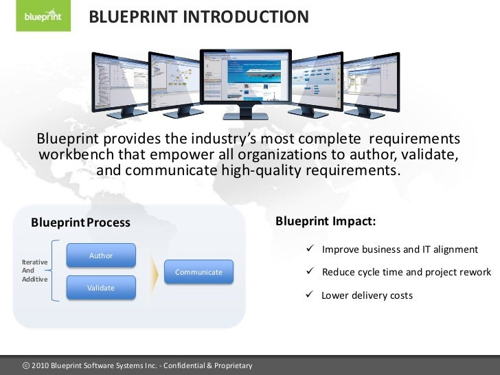 Blueprint requirements center 2010 blueprint introduction malvernweather Image collections