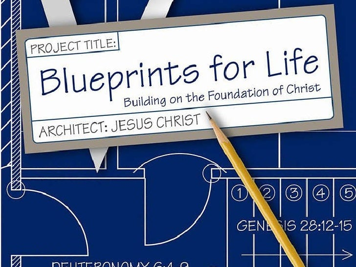 Blueprints for life 1 728gcb1256514431 upcoming slideshare malvernweather Images