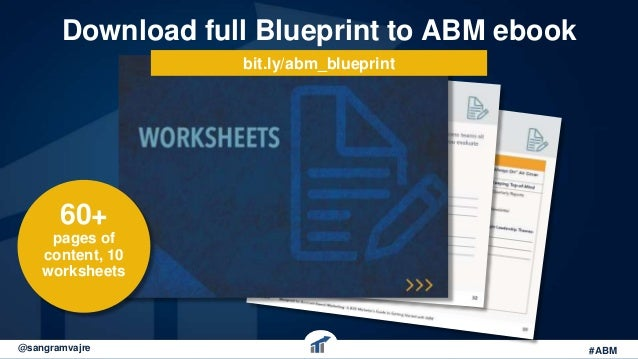 The blueprint to account based marketing webinar 26 download full blueprint malvernweather Choice Image