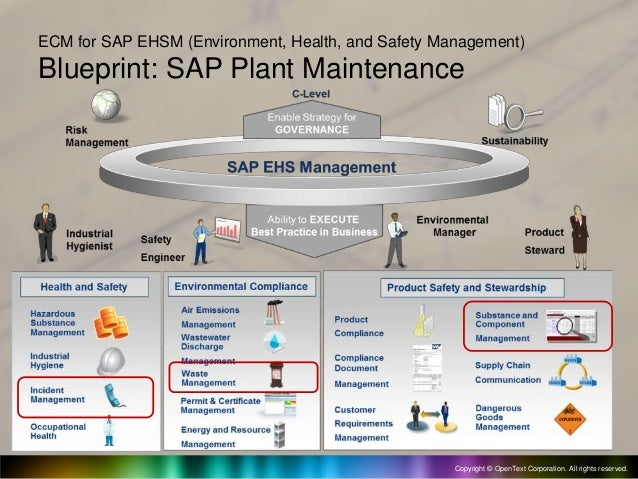 Sap extended ecm for sap ehsm environment health and safety manage 4 malvernweather Image collections