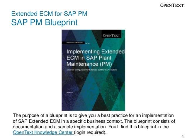 Sap extended ecm for sap pm plant maintenance 2 3 malvernweather Choice Image