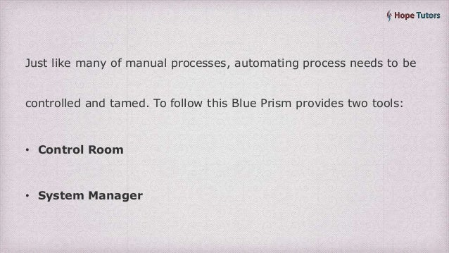 Blue prism technical interview questions and answers