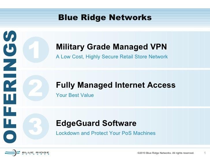 BLUE RIDGE NETWORKS DRIVERS MAC